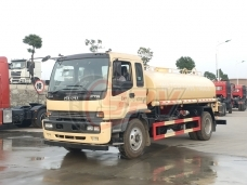 To Morocco -  Water Spraying Truck ISUZU(10,000 litres) in March, 2018