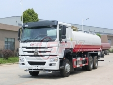 To Papua New Guinea - Water Spraying Truck Sinotruk(20,000 litres) in April, 2018