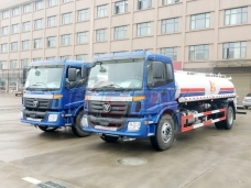 To Myanmar -  2 units of Water Tank Lorry FOTON(10,000 litres)  in May, 2018