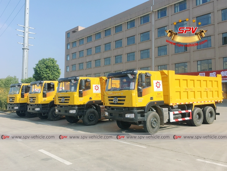 Repeat order to Malawi, SPV is shipping 4 units of dump truck in November, 2018.