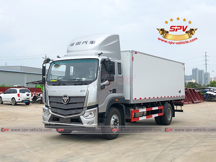 SPV is shipping vaccine truck FOTON to Mongolia in July, 2020.
