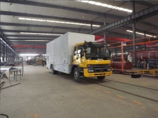 Power Van Service Truck Workshop 02