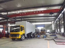 Power Van Service Truck Workshop 01