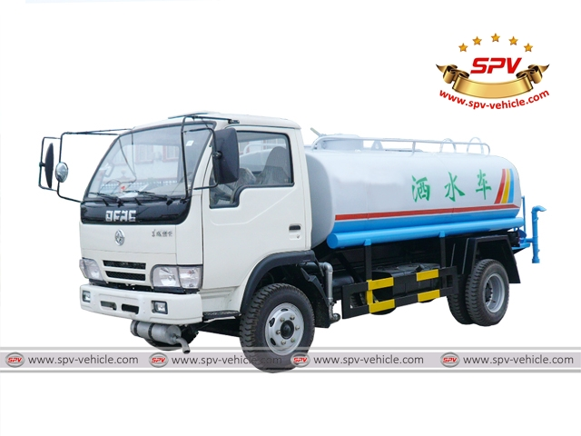 Mobile Water Bowser Dongfeng