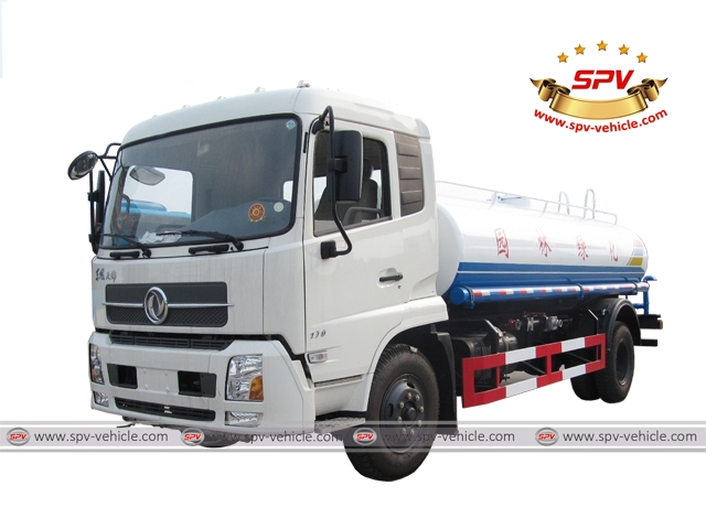 Water Sprinkler Bowser Dongfeng