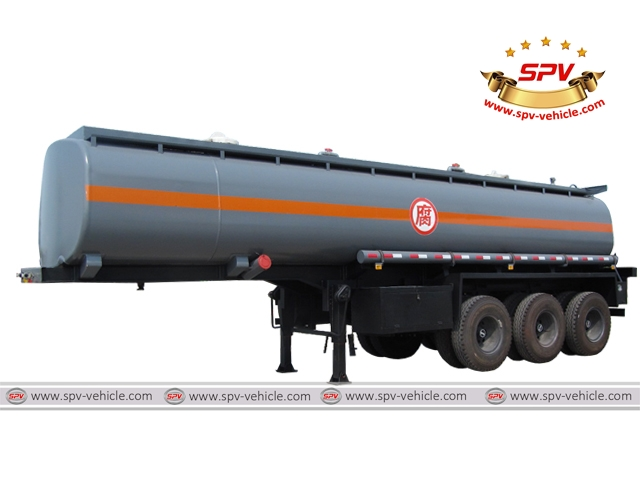 Chemical Liquid Tank Semi-trailer