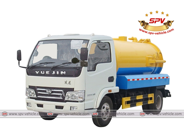 Sewer Cleaning Truck IVECO (YUEJIN)