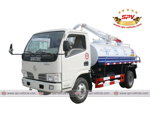 Septic Tanker Dongfeng