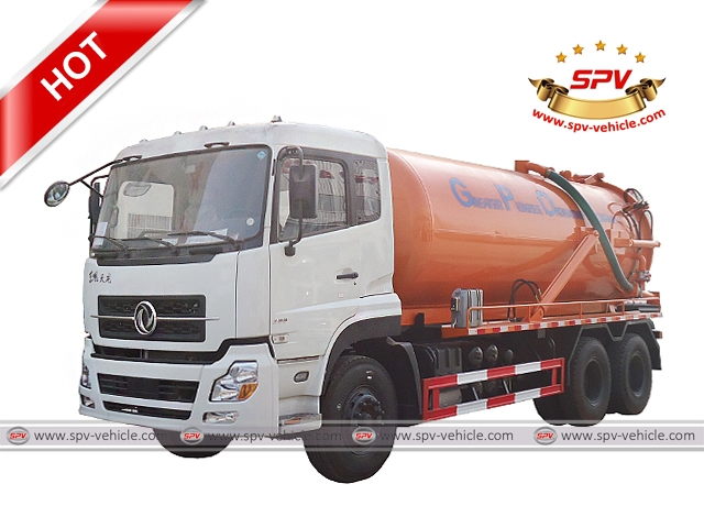 Sewer Cleaner DONGFENG