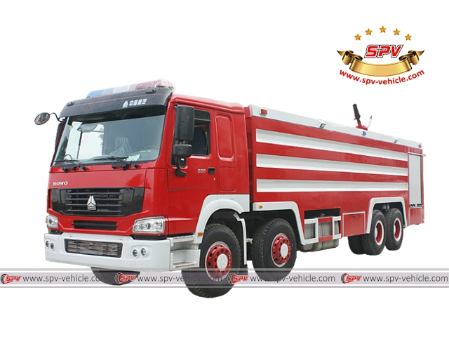 Fire Fighting Vehicle Sinotruk