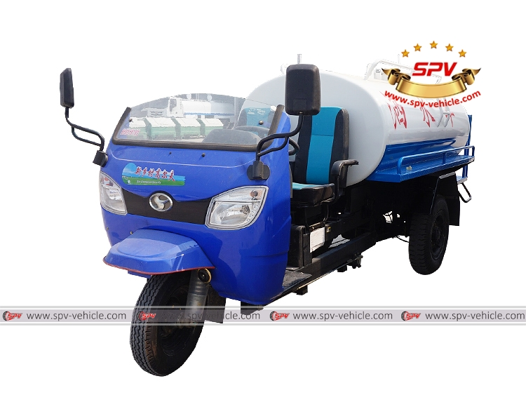 Motor Tricycle Water Cart Shifeng