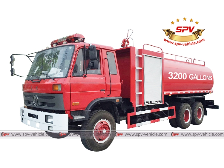 Fire Water Bowser Dongfeng
