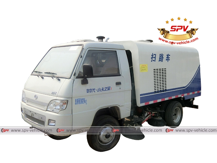 Mini Road Sweeper Truck Forland