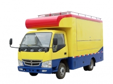 Mobile Catering Truck Jinbei