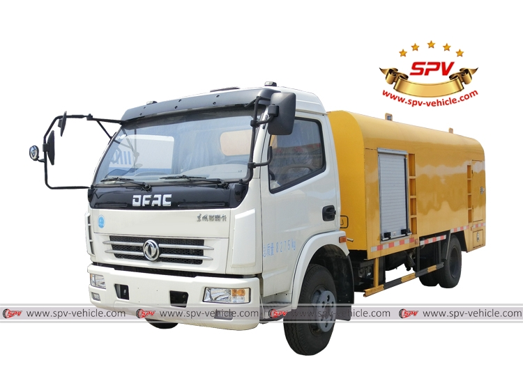 Sewer Jetting Vehicle Dongfeng