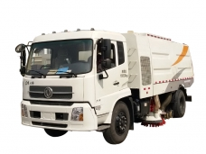 Vacuum Sweeper Truck Dongfeng