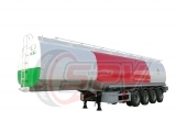 4-axle Fuel Tank Trailer