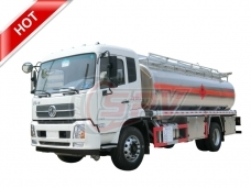 Stainless Steel Fuel Bowser Dongfeng