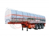 Aluminium Chemical Tank Semi-trailer