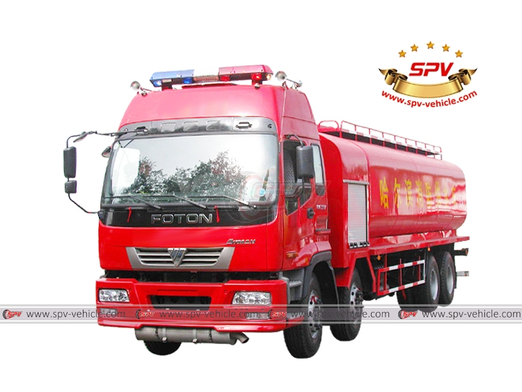 Water Fire Truck FOTON