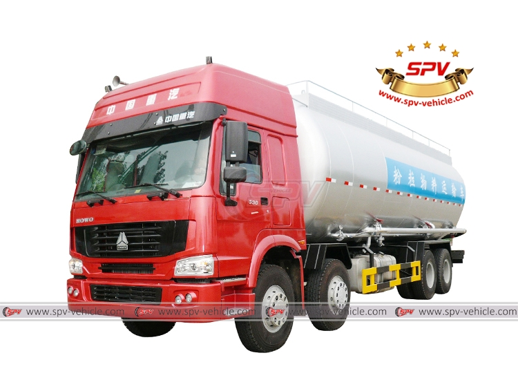 Bulk Powder Vehicle Sinotruk