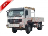 Off Road Telescopic Crane Truck Sinotruk