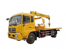 Tow Truck Mounted Crane Dongfeng